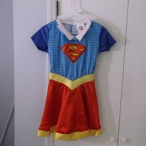 DC Super Hero Girls Costume Dress L Super Girl